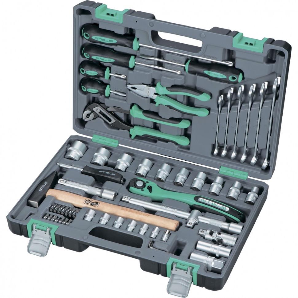 Набор инструментов Stels 14113, 58 предметов