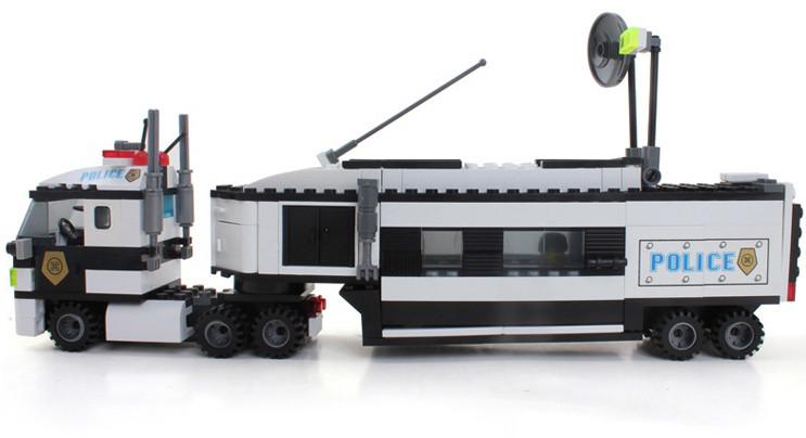 Конструктор BRICK 128 Полицейский участок. 325 деталей Аналог LEGO City