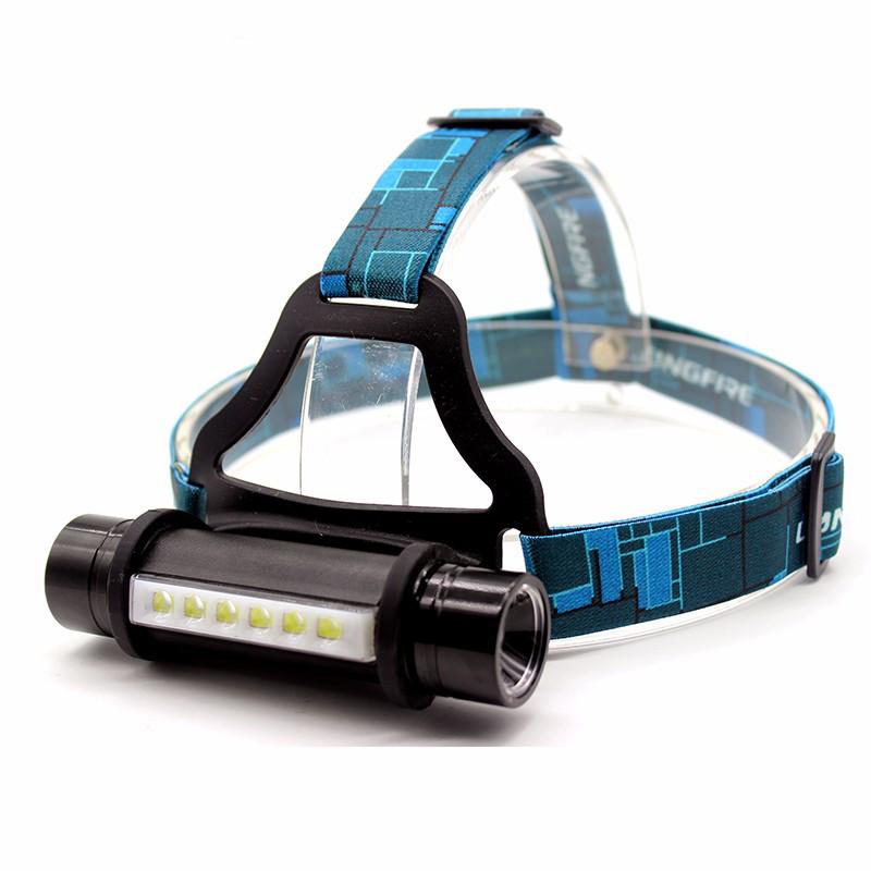 Налобний універсальний ліхтар 6 LED CREE Q5