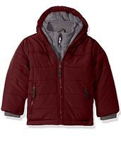 Зимняя куртка Rothschild (США) бордовая для мальчика от 4 до 6 лет