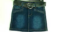 Шикарная джинсовая юбка для девоче