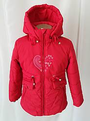 Весенняя удлиненная куртка для девочки модная