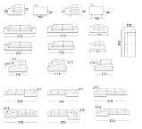 Угловой диван RALPH на хромированной базе фабрика ALBERTA (Италия), фото 2