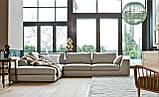 Угловой диван RALPH на хромированной базе фабрика ALBERTA (Италия), фото 5