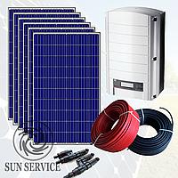 """Сонячна електростанція 10kW під """"Зелений тариф"""", комплект оптимальний"""