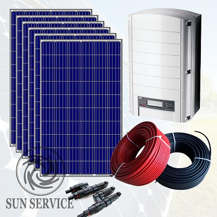 """Сонячна електростанція 10kW під """"Зелений тариф"""", комплект оптимальний, фото 2"""