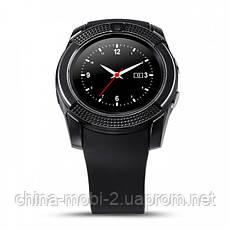 Смарт - часы SMART WATCH V8 black, MicroSIM Bluetooth microSD, фото 2