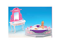 """Мебель """"Gloria"""" для ванной, джакузи, умывальник с зеркалом, в кор. 25*8*34см (24шт/2)(2613)"""