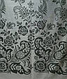 Женский палантин 200 на 70 Dress QL-050_светло-сер, фото 3