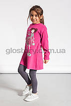 Удлинённый реглан для девочки Glo-Story, фото 2