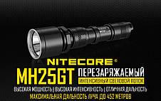 Фонарь Nitecore MH25GT (Cree XP-L HI V3, 1000 люмен, 6 режимов, 1x18650, USB), фото 3