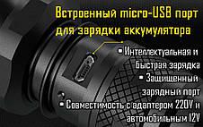 Фонарь Nitecore MH25GT (Cree XP-L HI V3, 1000 люмен, 6 режимов, 1x18650, USB), фото 2