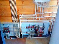 Монтаж системы отопления в деревянном доме, фото 1
