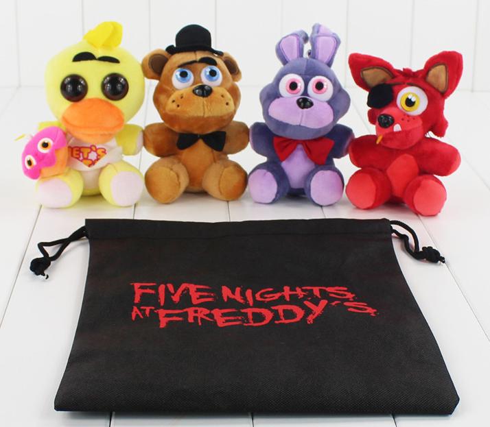 5 ночей с Фредди Плюшевая мягкая игрушка  Аниматроники Фнаф fnaf