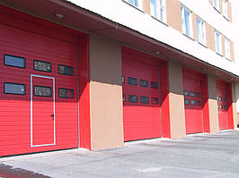 Промышленные ворота Alutech 3250х3085 мм