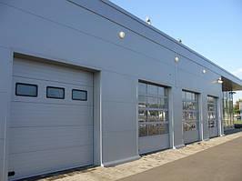 Промышленные ворота Alutech 4750х3085 мм