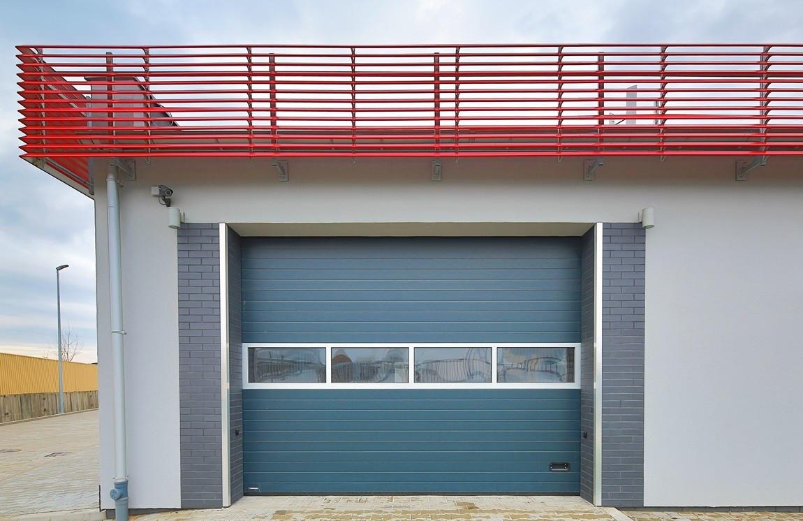 Промислові ворота Alutech 4000х3085 мм