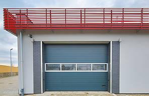 Промышленные ворота Alutech 4000х3085 мм