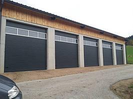 Промышленные ворота Alutech 3000х3085 мм