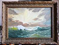 """Картина """"Восход над морем"""""""