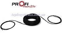 Одножильный нагревательный кабель Profi Therm Eko плюс 23 2675 Вт  для систем антиобледенения