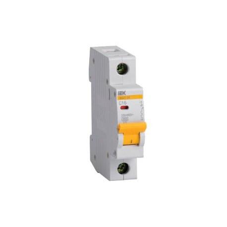 Автоматичний вимикач (1p, 2А) IEK MVA20-1-002-B