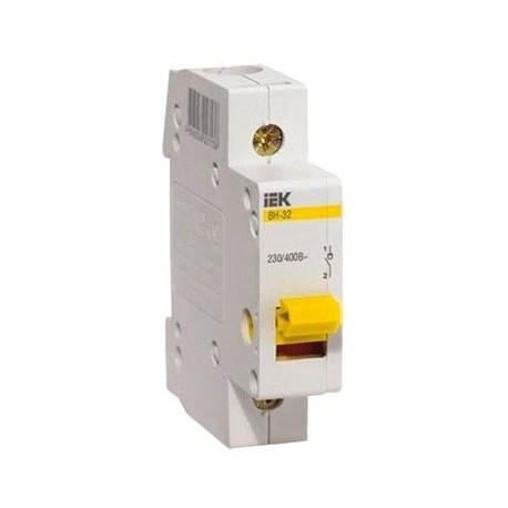 Выключатель нагрузки ВН-32 1Р 100А IEK MNV10-1-100