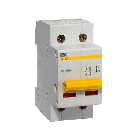 Выключатель нагрузки ВН-32 2Р  40А IEK MNV10-2-040