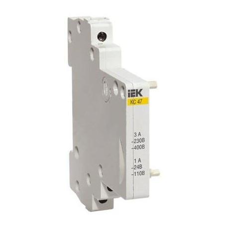 Контакт состояния КС-47 (сигнальный) на DIN-рейку IEK MVA00D-KS-1
