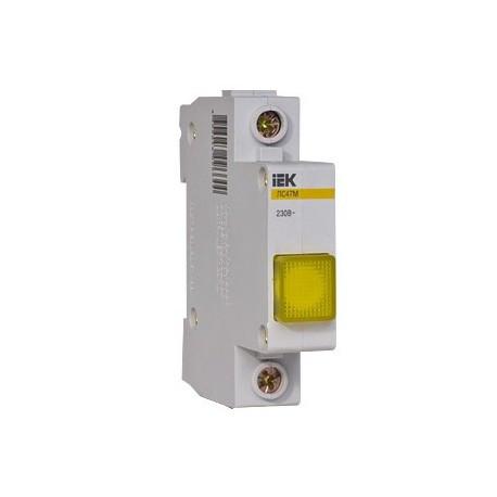 Сигнальная лампа ЛС-47М (желтая) (матрица) IEK MLS20-230-K05