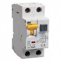 Дифференциальный автоматический выключатель (6 A,30 mA,A) IEK MAD22-5-006-C-30