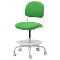 ВИМУНД Детский стул для письменного стола, ярко-зеленый 50308667 ИКЕА, IKEA, VIMUND