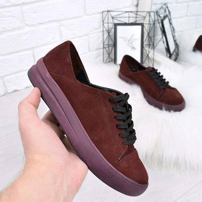 Кеды женские Urban бордо 4415, спортивная обувь