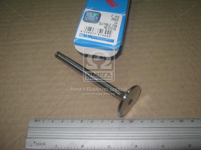 Клапан выпускной MB OM601-603 35x9x106.4 (пр-во KS) 26032