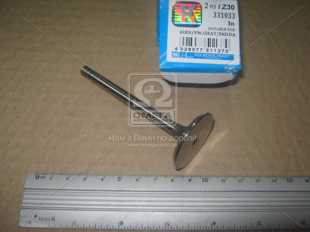 Клапан впускной VAG 1.9TDi 99- 35.9x7x89.9 (пр-во KS) 331033