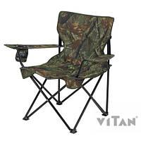 """Кресло """"Вояж-комфорт"""" d16 мм (Оксфорд Дубок), разм.сиден. 53х43 см.,высота до сиденья 40см, до 100кг(2110005)"""