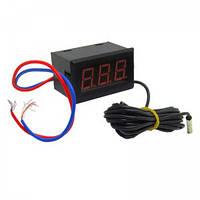 Термометр цифровой со светодиодной индикацией и выносным датчиком, -50 ~ 110 С, 220В