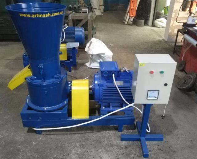 Гранулятор опилки 380 В, 22 кВт. (фото 4)