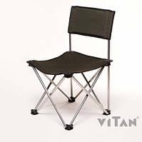 """Стул Рыбак """"Тюльпан"""" d16 мм (зеленый Меланж)размер сиденья 43х43см., высота до сиденья 37см, до100кг (5930)"""