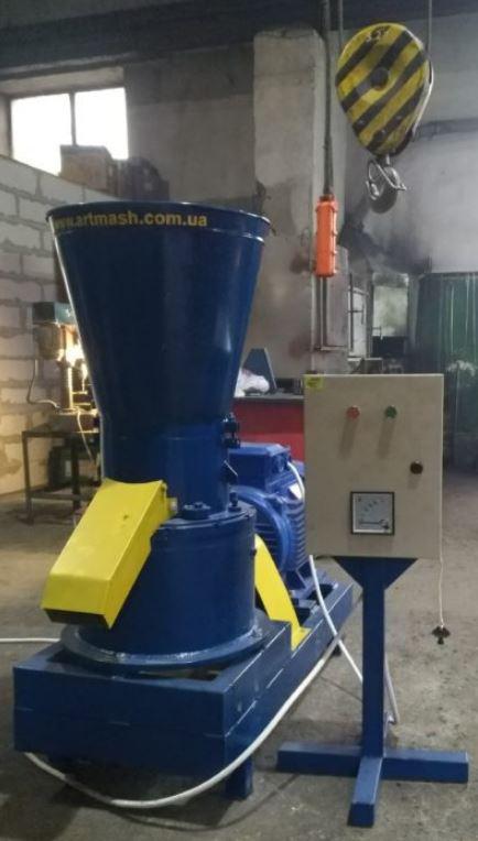 Гранулятор опилки 380 В, 22 кВт. (фото 2)