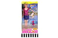 """Кукла с собачкой и аксесс. """"Kaibibi"""" 15*32*5см /96-2/(BLD134)"""
