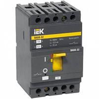 Корпусный автоматический выключатель ВА88-32  (3Р  125А  25кА) IEK SVA10-3-0125