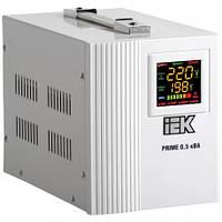 Стабилизатор напряжения переносной Prime  0,5 кВА IEK IVS31-1-00500