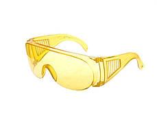 Очки защитные противоосколочные желтые Htools82K050