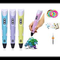 3D ручка 3D PEN 2 MYRIWELL. 3Д Ручка с экраном. Купить 3D ручку