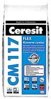 """Смесь клеящая CM 117 """"Flex"""" Ceresit"""