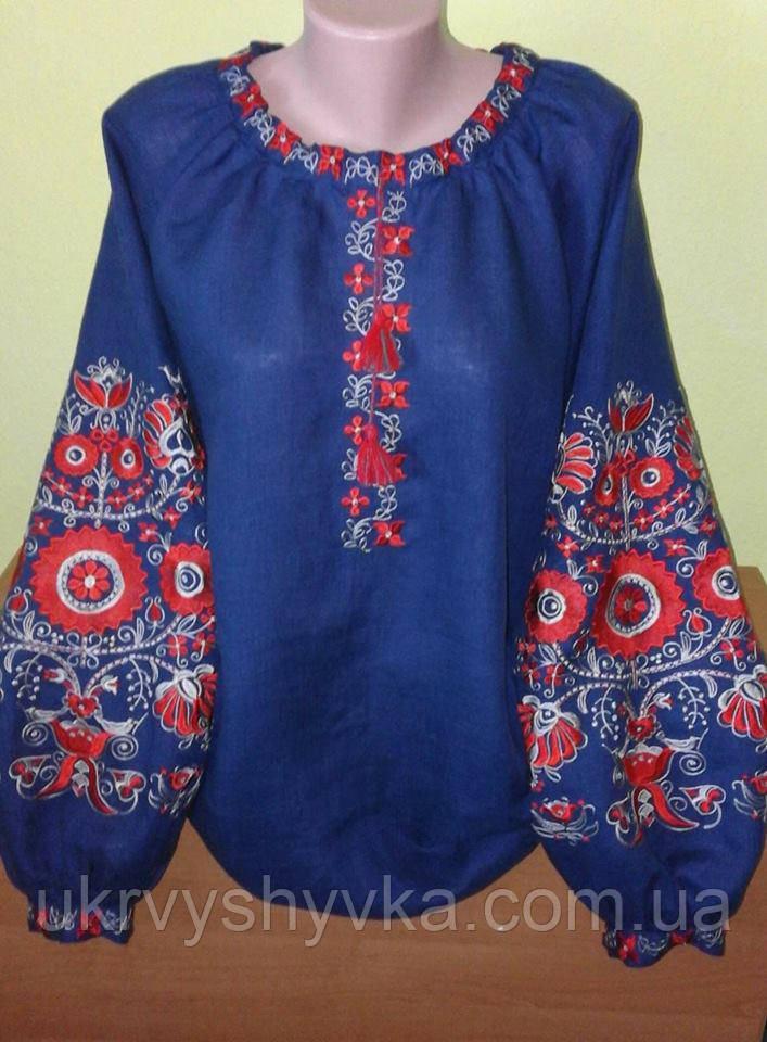 Блузка в стилі бохо