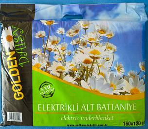 Гарантия 1 год! Байковые электропростыни. пр-ль Турция, размер 120Х160 см.