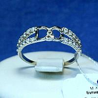 Серебряное кольцо с цирконием D&G кс 1309, фото 1