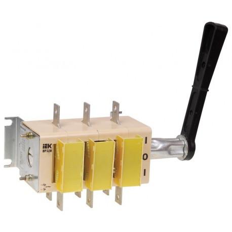 Вимикач-роз'єднувач ВР32И-31A71240 100А на 2 напрямки передня рукоятка IEK
